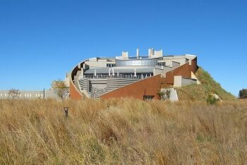 Maropeng visitor centre at the Cradle of Humankind, Gauteng