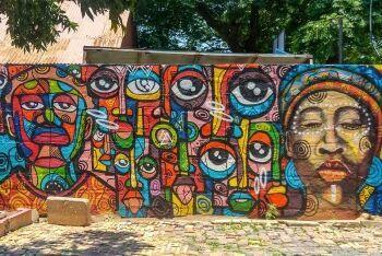 Soweto street art, Johannesburg, Gauteng