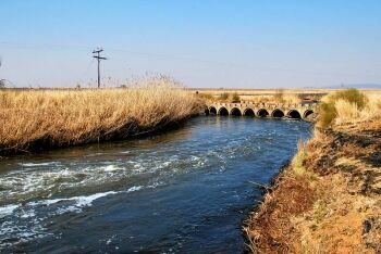 Bridge over the Klip River near Eikenhof, Johannesburg South, Gauteng