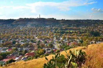 Bezuidenhout Valley, a suburb of Johannesburg, Gauteng