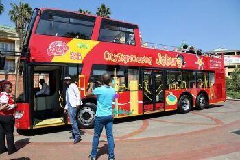 Sightseeing bus, Johannesburg, Gauteng